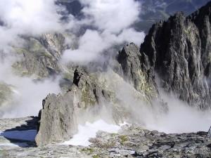 Vidlový hrebeň z Lomnického štítu