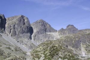 Kupola, Východná Vysoká, Prielom a Divá veža z Veľké Studené doliny