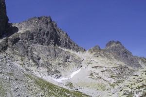 Východná Vysoká, Prielom a Divá veža z Veľké Studené doliny