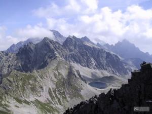 panorama ze Svišťového štítu