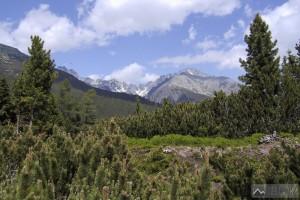 Zlomisková dolina při výstupu k Chatě pod Soliskom