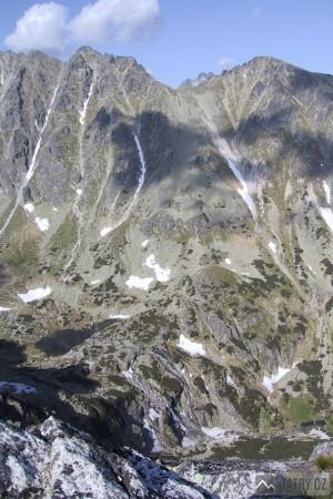 Pleso nad Skokom a vodopád Skok z Predného Soliska