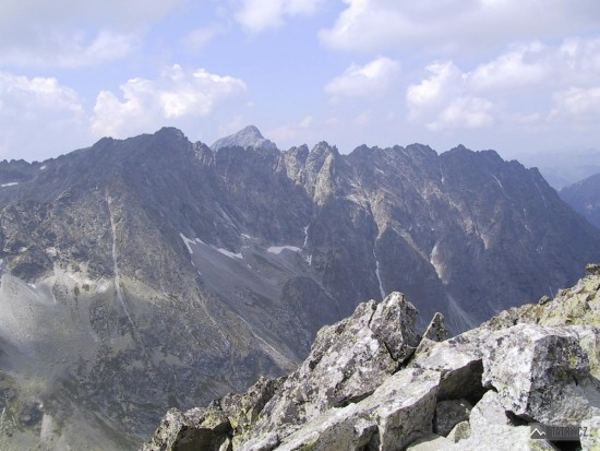 výhled z Kôprovského štítu