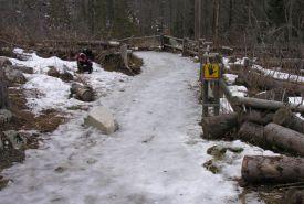 Led na turistických cestách