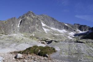 Ľadové štíty od Téryho chaty