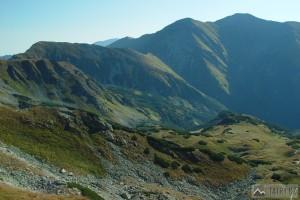 Lopata, Hrubý vrch a Jakubiná ze Žiarskeho sedla