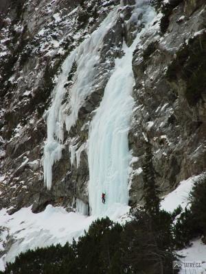 ledopády ve Veľké Studené dolině