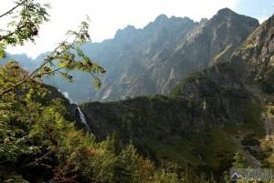 práh Kačací doliny při výstupu Bielovodskou dolinou