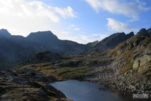 závěr Veľké Studené doliny od Zbojnícke chaty