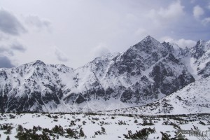 Veľká Svišťovka a Malý Kežmarský štít z Doliny Bielych plies