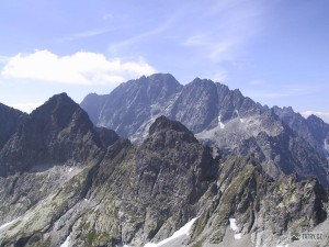 Východná Vysoká a Gerlachovský štít ze Svišťového štítu
