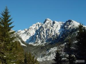 ústí Malé Studené doliny pod Lomnickým štítem z Hrebienku