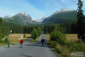 cestou od Štrbského plesa do Mlynické doliny