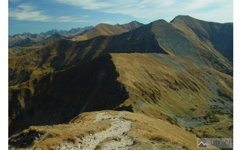 výhled z Volovce na východ