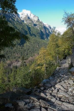 Slavkovský štít cestou na Zamkovského chatu
