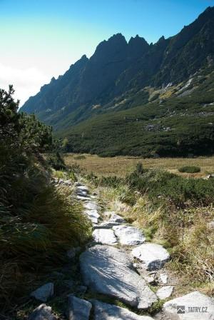 Prostredný hrebeň z Malé Studené doliny
