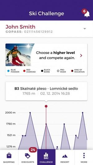 GOPASS - mobilní aplikace