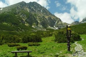 Gerlachovský štít z Velické doliny