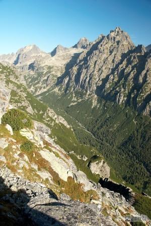Veľká Studená dolina cestou na Slavkovský štít