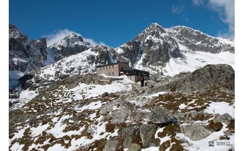 Téryho chata a Ľadové štíty
