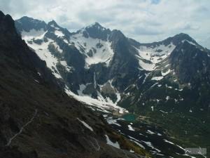 Baranie rohy, Kolový a Jahňací štít z Veľké Svišťovky