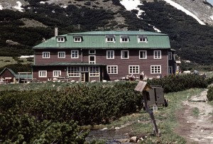 Kežmarská chata (rok 1974)