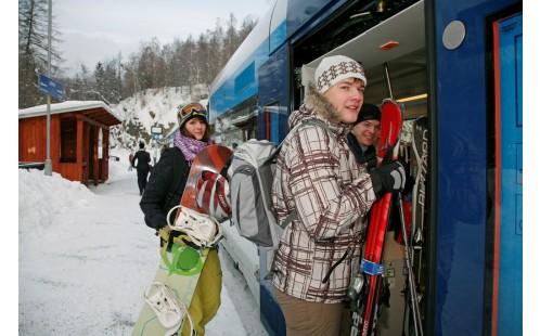 Na lyže s Českými drahami
