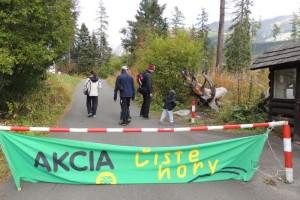 Čisté hory - Popradské Pleso