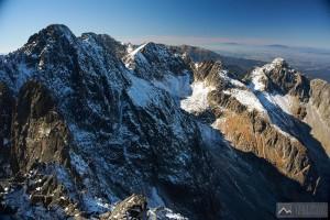 Ohromující panorama: Pyšné štíty, Ľadový štít a Baranie rohy