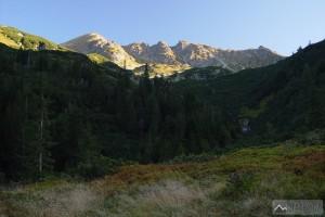 Hrubá kopa a Tri kopy ze Žiarske doliny