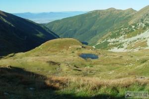 Žiarska dolina ze Žiarskeho sedla