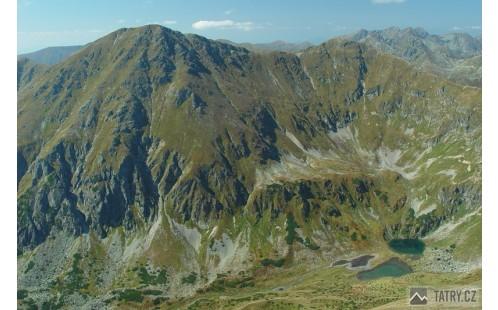 Jakubiná a Hrubý vrch z Klinu