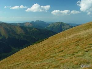 Lúčna, Osobitá a Bobrovec od Siwe Przełęcze