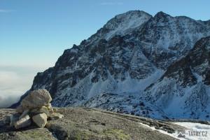Slavkovský štít z Veľké Studené doliny