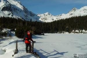 zamrzlé Popradské pleso a Mengusovská dolina