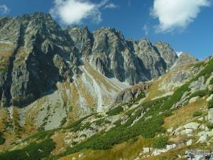 hřeben Bášt z Mengusovské doliny