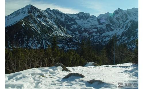Dolina Gąsienicowa od Królowych Kop