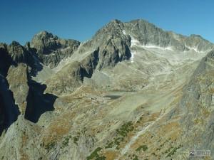 Malá Studená dolina z Lomnického sedla