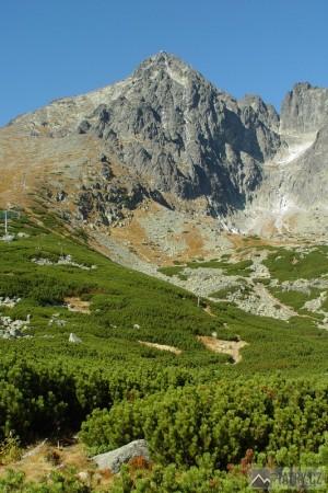 Lomnický štít ze Skalnaté doliny