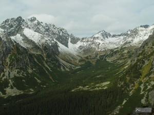 Mengusovská dolina při výstupu do Sedla pod Ostrvou