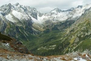 Mengusovská dolina za sedla