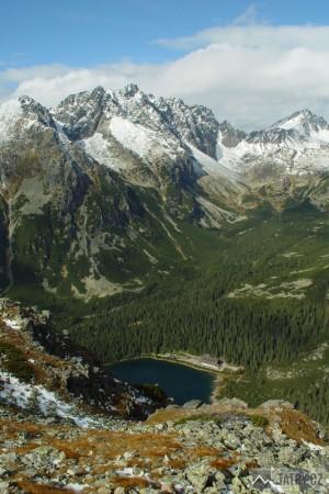 Mengusovská dolina ze sedla Ostrvy