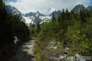Zmrzlé doliny cestou k Zelenému plesu