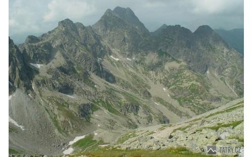 Hřeben Orlej Perće s nejvyšší Swinicou