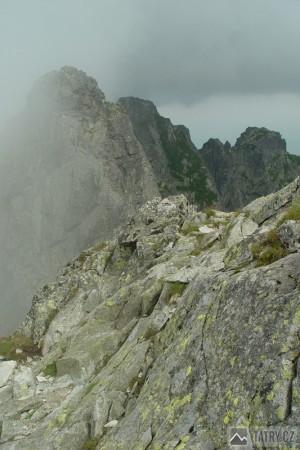 Na hřebeni Orla Perć rozhoduje počasí