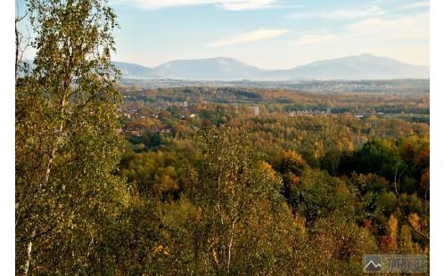 Trávný a Lysá hora z Ostravy