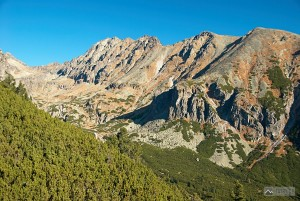 Mlynická dolina z lanovky na Predné Solisko