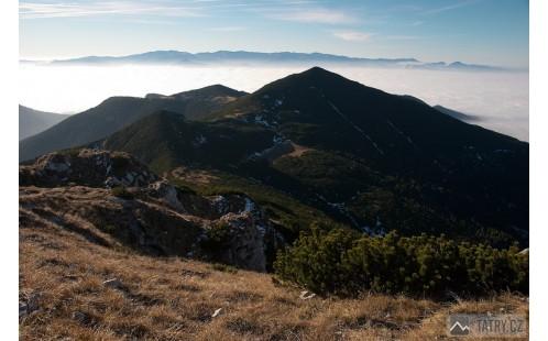 Ostrá a Nízke Tatry ze Sivého vrchu