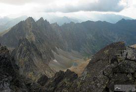 Výhled do Javorové doliny ze Široké veže
