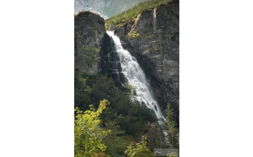 Hviezdoslavov vodopád v Bielovodské dolině